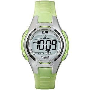 Timex Digital Sports Watch w/ Resin Strap Lime EUC